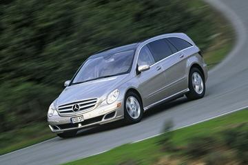 Gereden: Mercedes R-Klasse