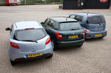 Mazda 2-Skoda Fabia-Daihatsu Materia
