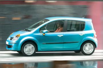 Actie op Renault Modus