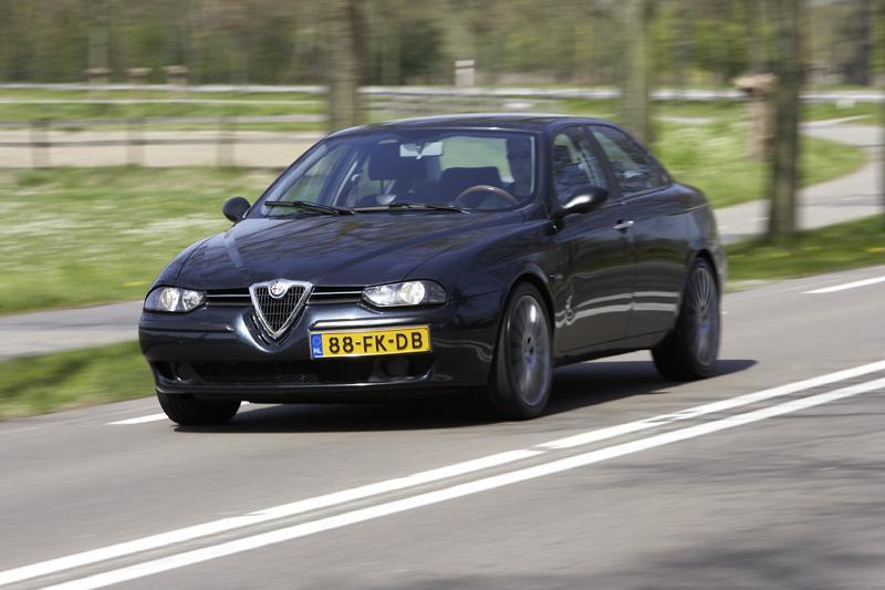 Klokje rond Alfa Romeo 156 1.8 Twin Spark (2000)