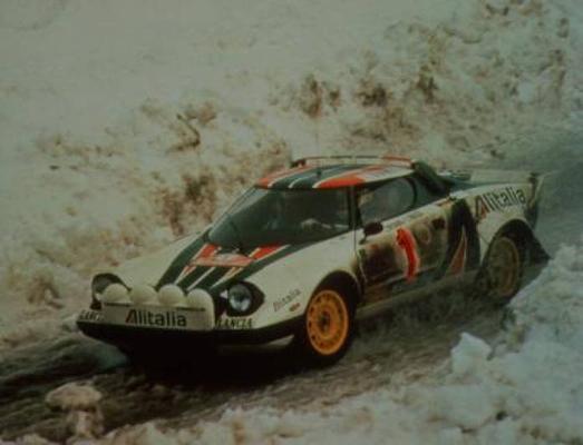 Lancia Stratos straatversie