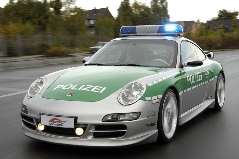 TechArt politie-Porsche tegen tuning-piraterij