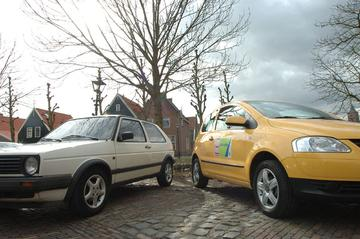Volkswagen Golf 1.6 (1988) - Volkswagen Fox 1.4 (2005)