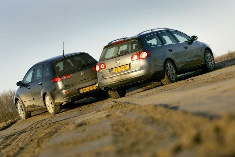 Volkswagen Passat Variant 2.0 16V Turbo FSI Highline – Fiat Croma 2.4 JTD 20v 20