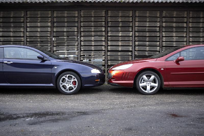 Peugeot 407 Coupé 3.0 V6 - Alfa Romeo GT 3.2 V6