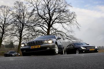 Audi A8 3.0 TDI Quattro – Jaguar XJ 2.7D – Mercedes-Benz CLS 320 CDI