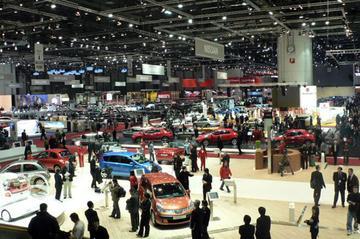 Bezoekerscijfers Autosalon van Genève