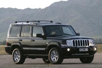 Jeep Commander geprijsd