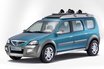 Dacia Logan Steppe Concept: break op komst