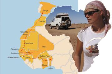 Mali - Burkina Faso Km-stand 17.548