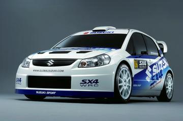 Suzuki toont SX4 rallyconcept