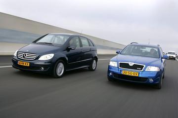 Mercedes–Benz B 200 Turbo – Skoda Octavia Combi RS