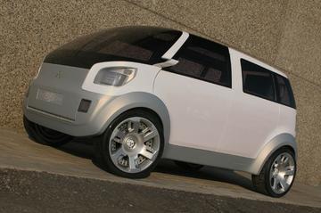 Mitsubishi EZ MIEV lijkt nergens op