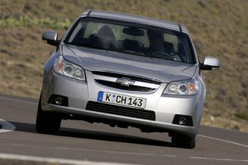 Chevrolet Epica op gas