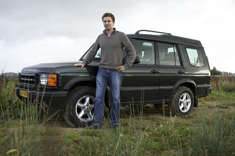 Klokje rond Land Rover Discovery