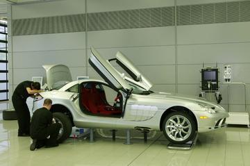 Snellere versie van Mercedes SLR