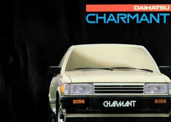 Daihatsu Charmant 1300,1600,lc,ld,le