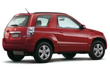 Suzuki Grand Vitara verliest reservewiel