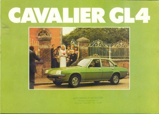 Vauxhall Cavalier Gl4,l,gl,gls