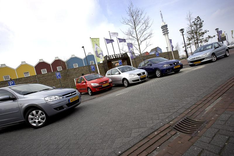 Opel Corsa 1.2 Twin Port - Hyundai Getz 1.4i - Volkswagen Polo 1.4 - Seat Ibiza