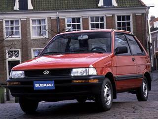 Subaru Justy 1.2 Si ECVT (1993)