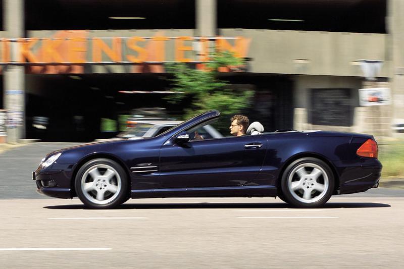 Mercedes-Benz SL 500 (2004)