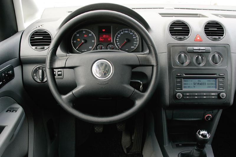 volkswagen caddy 1 9 tdi trendline 2005 autotest. Black Bedroom Furniture Sets. Home Design Ideas