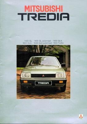 Mitsubishi Tredia Gls,gl,glx,gls,automaat,turbo