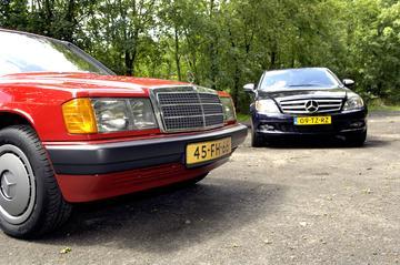 Oud & Nieuw: Mercedes-Benz 190 1.8 E – C 200 Kompressor