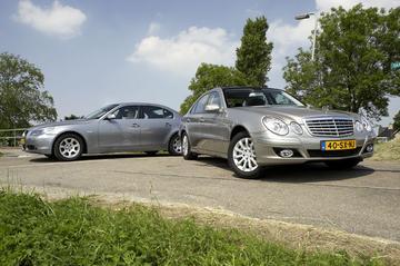 Mercedes E 200 CDI aut.  – BMW 520d