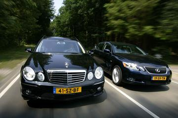 Lexus GS 450h – Mercedes-Benz E500