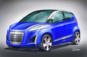 Suzuki Splash: studie op Swift-basis