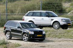 Jeep Grand Cherokee SRT-8 - Range Rover Sport Supercharged