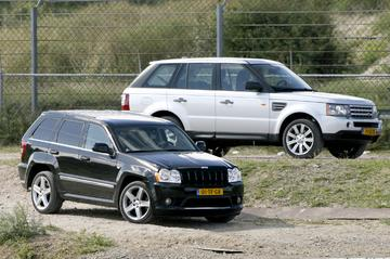 Jeep Grand Cherokee SRT-8 - Range Rover Sport Supercharged