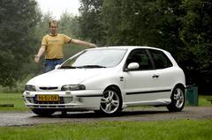 Klokje rond Fiat Bravo 2.0 20V HGT (1999)
