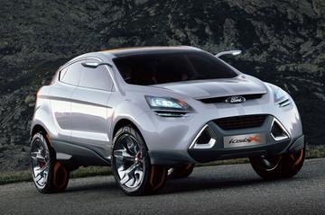 Ford Iosis X niks meer dan stijlstudie