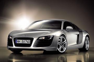 Audi R8 onbegrensd