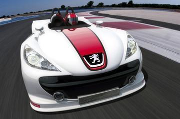 Vederlichte concept van Peugeot