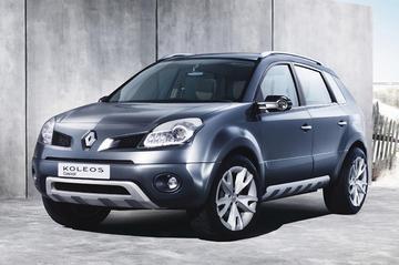 Koleos Concept: SUV van Renault