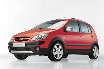 Prijs Hyundai Getz Cross bekend