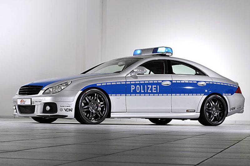 Brabus CLS Rocket voor even politie-auto