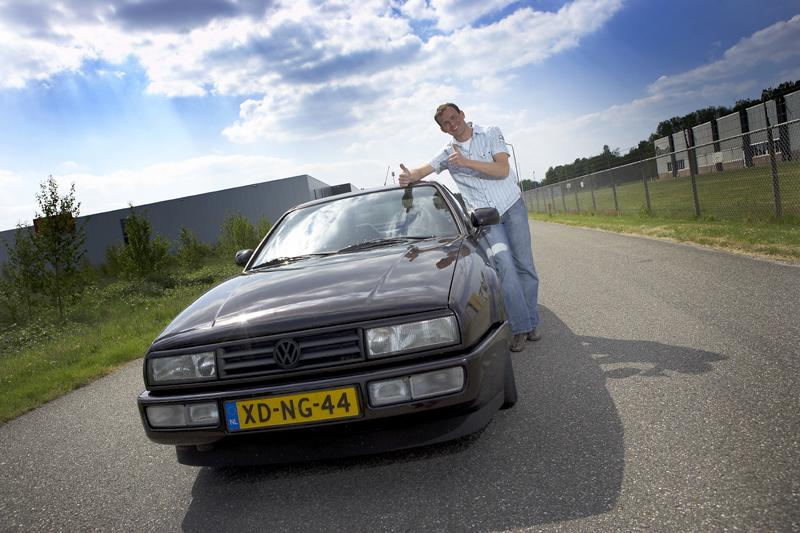 Klokje rond Volkswagen Corrado