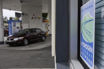 Hydrogen Highway per Honda FCX Clarity