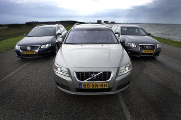Volvo V70 3.2 – Volkswagen Passat Variant 3.2 V6 – Audi A6 Avant 3.2 quattro