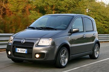 Afgestoft: Fiat Panda 100 HP