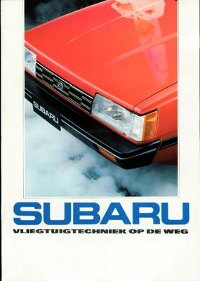Subaru Sedan,stationwagen Std,dl,gl,gl At,4wd