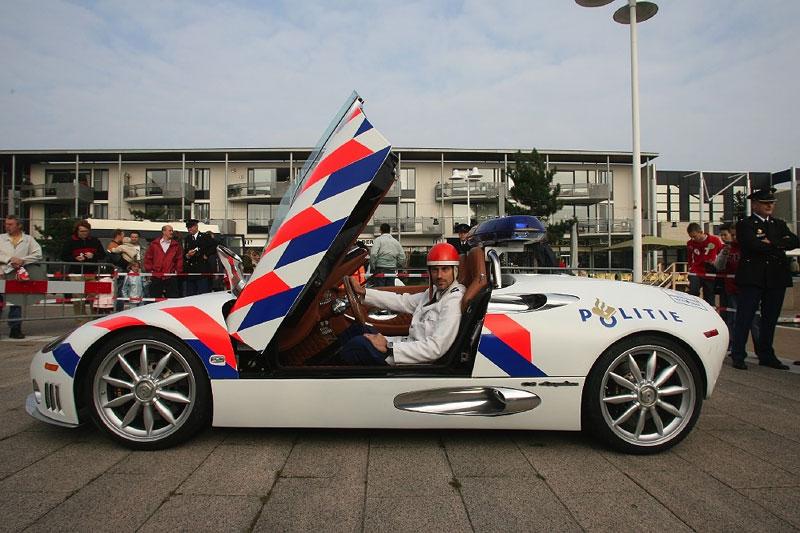 Spyker Voor Politie Flevoland Autonieuws
