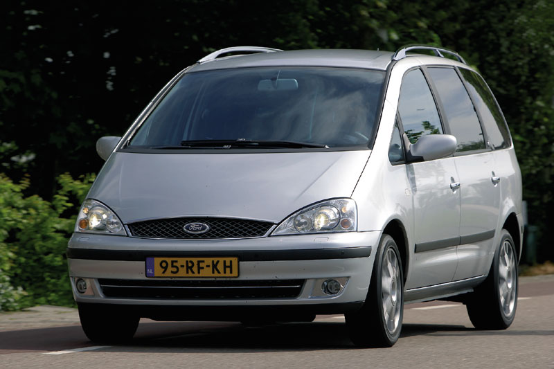 ford galaxy 1 9 tdi 150 pk ghia 2005 autotest. Black Bedroom Furniture Sets. Home Design Ideas