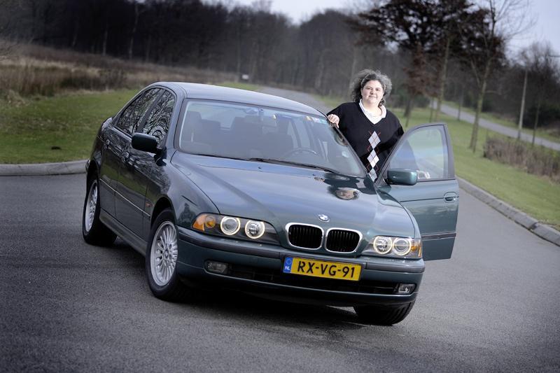 Klokje rond BMW 528i