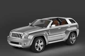 Jeep Trailhawk concept: net geen cabriolet